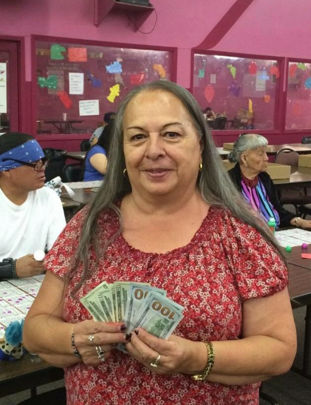 One of NMAHA's regular customers for bingo games, Mary, recently won $500 playing speedy bingo after she obtained the cover-all in just 52 numbers.