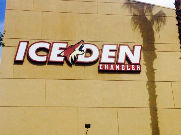 Ice Den Chandler Exterior