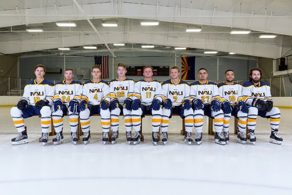 NAU D2 Ice Jacks Photo Day