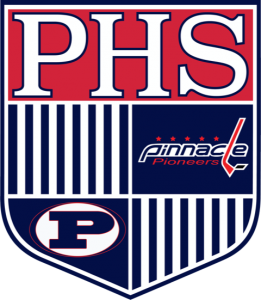 Pinnacle Crest Logo 2017 Blue Border