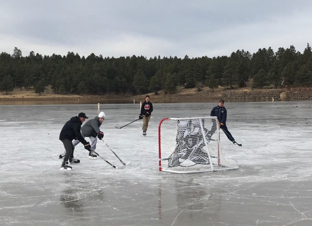 pond hockey flagstaff