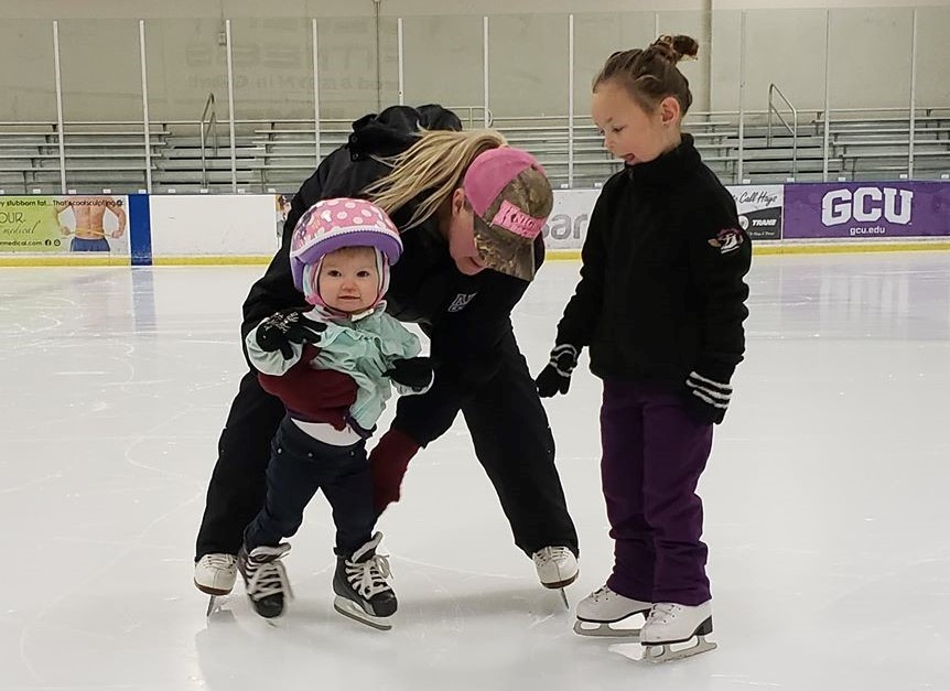 """Holly truly loves what she does. She gives so much dedication to her students to make them the best they can be. With her background in figure skating, her knowledge of edge control and power is the best in the business. Our kids are so lucky to have her."" – Special Olympics Arizona skating instructor/figure skating director Cassandra Streit"
